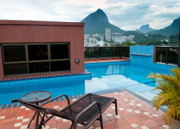 Private pool in the heart of Rio de Janeiro