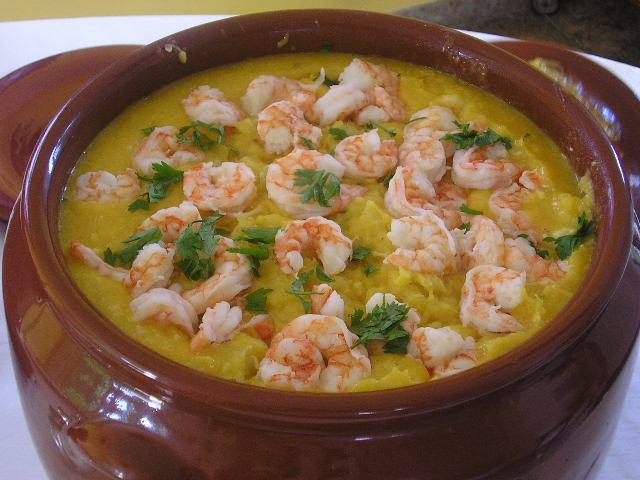 A delicious Brazilian Shrimp dish